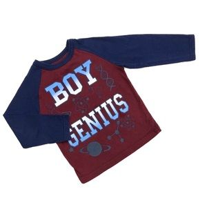 Garanimals Boys Long Sleeve Top Shirt Size 2T